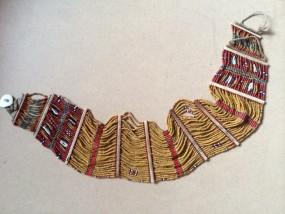 Antiker, afrikanischer Gürtel - handgearbeitet