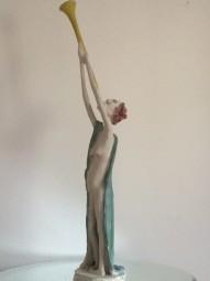 Der Bläser - Skulptur